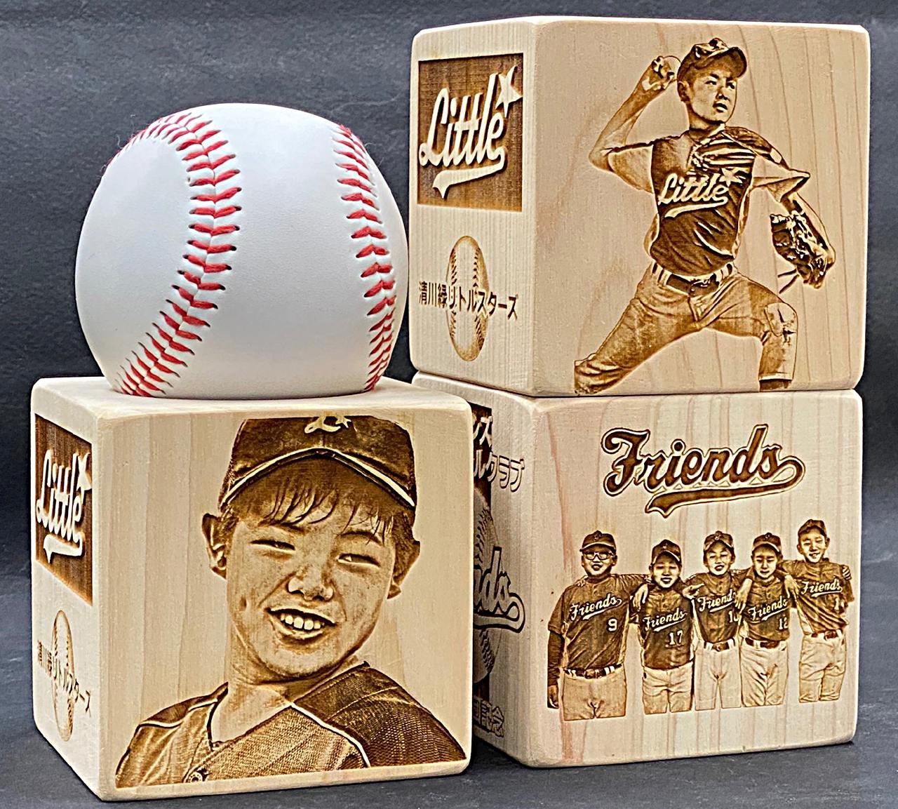 野球記念品 人気の写真彫刻